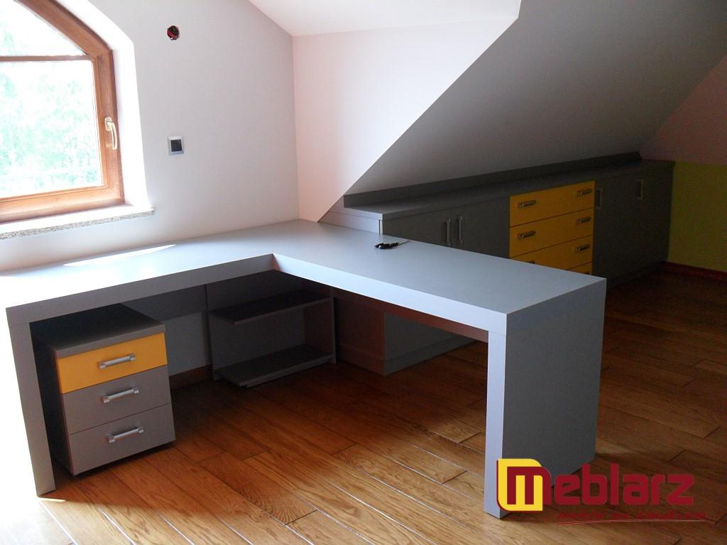 Ogromnie biurko metalik | MEBLARZ meble na zamówienie wymiar kuchnia CG34